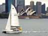 [KatieKat Sailing in front of Sydney Opera House]