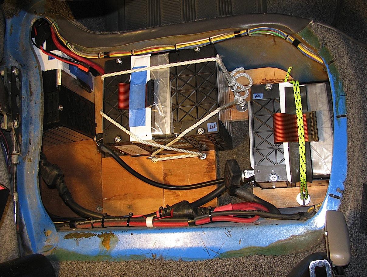 EnerDel Under Seat